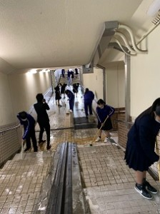 地下道清掃5